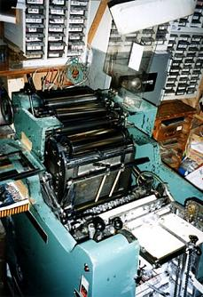 凸版印刷機
